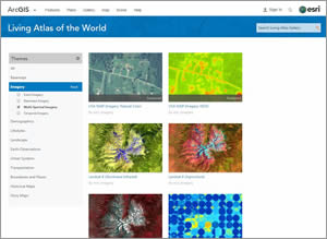 Matthews currently collects high-resolution imagery for the Living Atlas of the World.