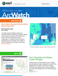 read the ArcWatch February 2017 issue