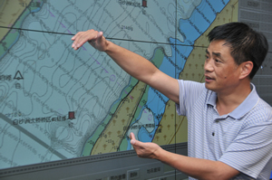 The Changjiang Waterway Bureau staff creates many electronic navigation charts to assist mariners.