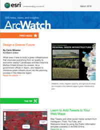 read the ArcWatch March 2016 issue