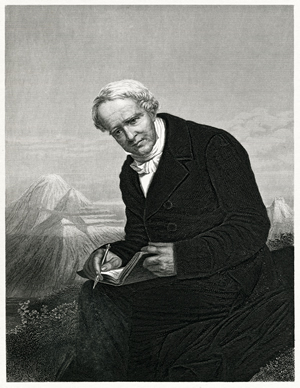 "Explorer and scientist Alexander von Humboldt was once described by Charles Darwin as ""The greatest scientific traveler who ever lived."""