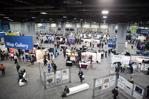 The GIS Solutions EXPO drew thousands to the Walter E. Washington Convention Center.