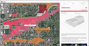 The City of Portland, Oregon, uses GIS to plan future development.