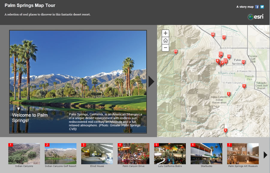 Story Map Arcgis Make a Map Tour Story Map
