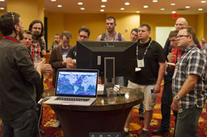 Developers were eager to learn about what's possible with Esri technology.