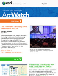 read the ArcWatch May 2015 issue