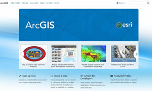 The book covers how to create apps using ArcGIS Online.