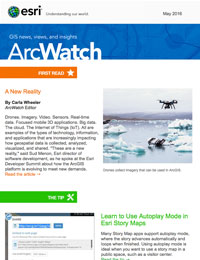 read the ArcWatch May 2016 issue