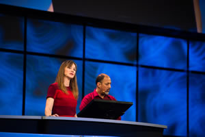 Esri's Linda Beale and Art Haddad provided insight into the capabilities of the new Insights for ArcGIS.