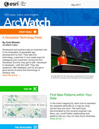 read the ArcWatch May 2017 issue