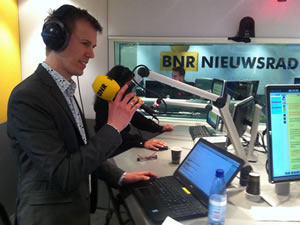 Harmen van Doorn of Esri Netherlands was interviewed by BNR Nieuwsradio about what the maps showed about the election result trends.