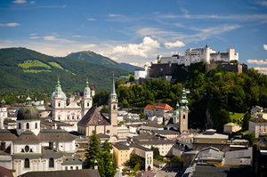 During their free time, Geodesign Summit Europe attendees can visit the Hohensalzburg Fortress.