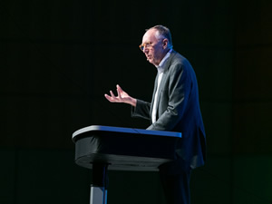 Sometimes the best is last. Esri president Jack Dangermond will summarize his Esri UC message during the Closing Session.