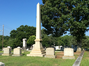 The City of Marietta wanted to use a story map to tell stories about the people buried in its city cemetery.
