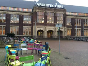Geodesign Summit Europe will be held in the Delft University of Technology's Department of Architecture building.