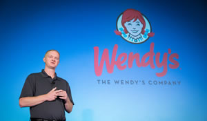 John Crouse says ArcGIS helps The Wendy's Company locate restaurants in the right places.