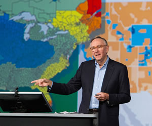 Geography as a science provides us the context and the content of our world, said Esri president Jack Dangermond.