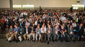 Thousands of people gathered for opening day of the 2015 Esri UC.