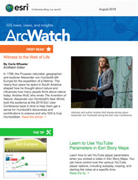 read the ArcWatch August 2016 issue