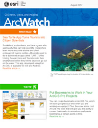 read the ArcWatch August 2017 issue