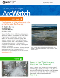 read the ArcWatch September 2017 issue