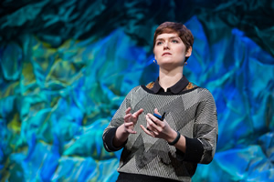 Amber Case, the director of  the Esri R&D Center in Portland, Oregon, will  talk about the ArcGIS Geotrigger service.
