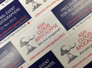 Heath gets the word out about Ashcloud Apocalypse using a mix of promotional videos and posters.