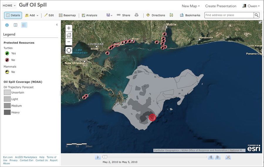 ArcWatch Learn How To Make A TimeAware Story Map - Map layers for us arcgis