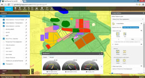 GeoPlanner for ArcGIS helps to manage the planning process more efficiently by applying the principles of geodesign.