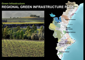 Planning and development using a green infrastructure framework is being put into practice in the autonomous region of Valencia, Spain.