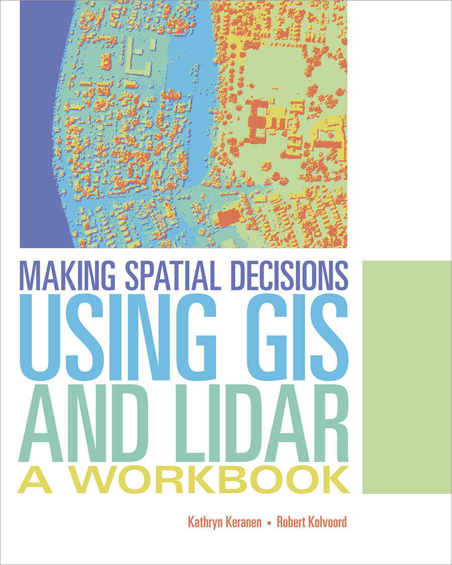 The book contains 10 learning modules that focus on how to use lidar data with GIS to answer questions and make informed decisions about real-world situations.