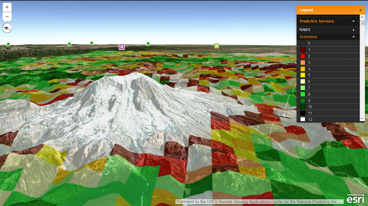 Fire Globe Delivers Esri 3D Visualization to US Firefighters