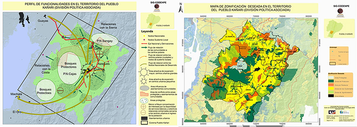 AmazonGISNET, Resl and Ankuash use Esri story maps to visually communicate essential characteristics of the life plans of 11 tribes with half a million people living in the Amazonian lowlands of eastern Ecuador.