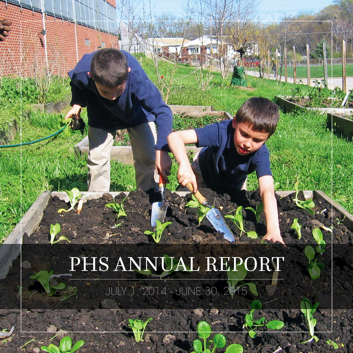 Pennsylvania Horticultural Society took grand prize for a story map of the organization's 2015 annual report.