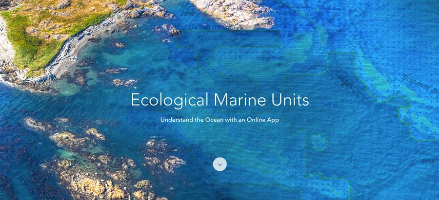 Ecological Marine Units (EMUs) are Esri's gift to a world whose final unexplored terrain lies beneath its seas.
