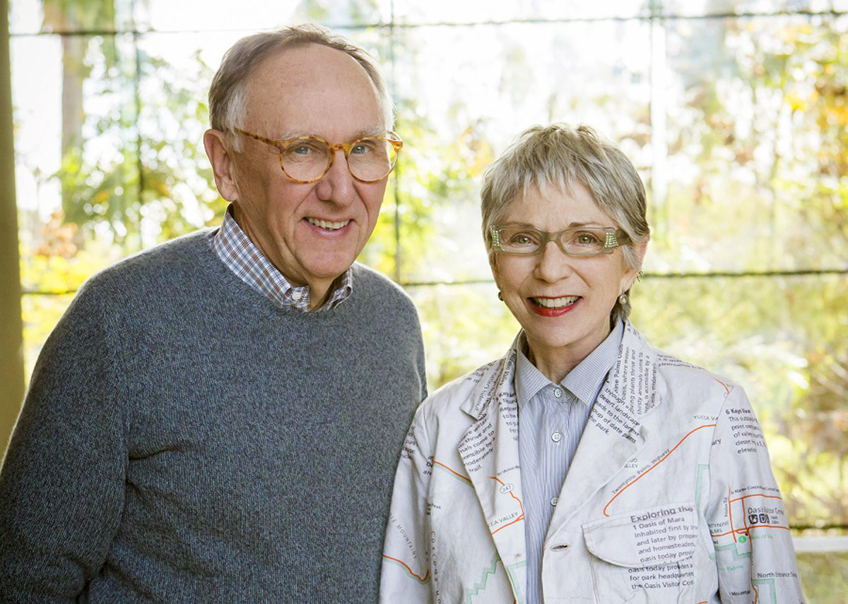 Jack and Laura Dangermond honored on Business Insider Top 100.