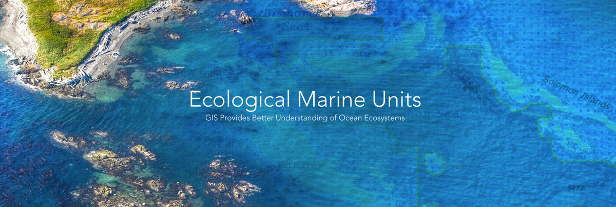Esri's New Ecological Marine Units App