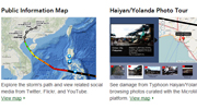 Typhoon Haiyan/Yolanda Maps