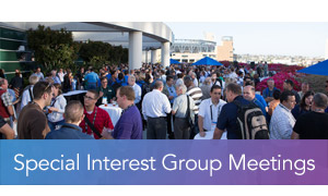 Special Interest Group Meetings