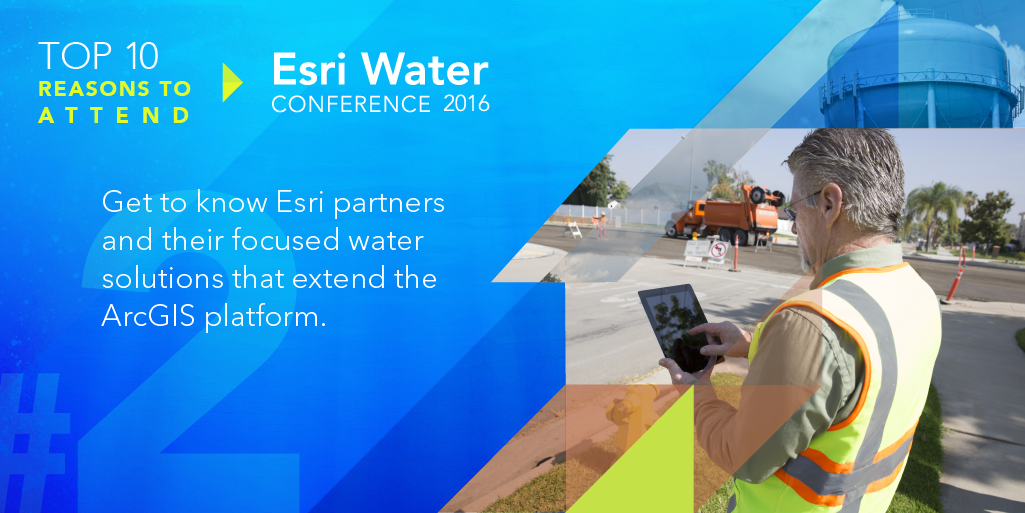 Get to know Esri partners and their focused water solutions that extend the ArcGIS platform.