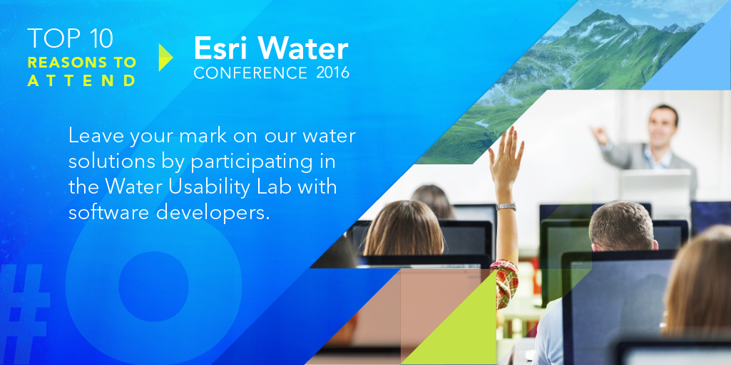 Leave your mark on our water solutions by participating in the Water Usability Lab with software developers.