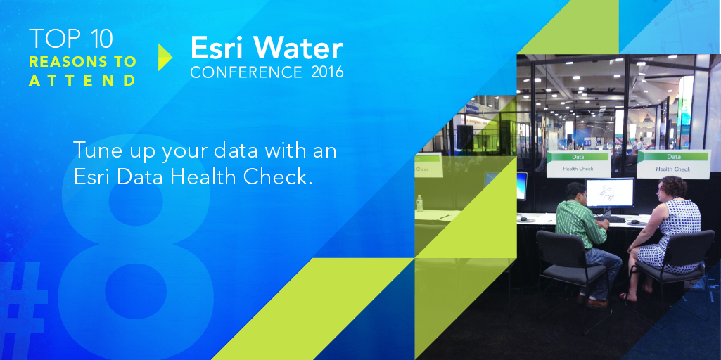 Tune up your data with an Esri Data Health Check.
