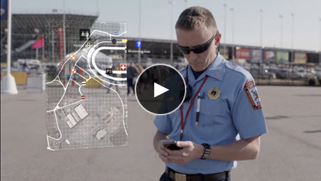ArcGIS for Special Event Operations—Richmond International Raceway