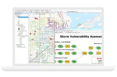 Storm Vulnerability Assessment solution and map